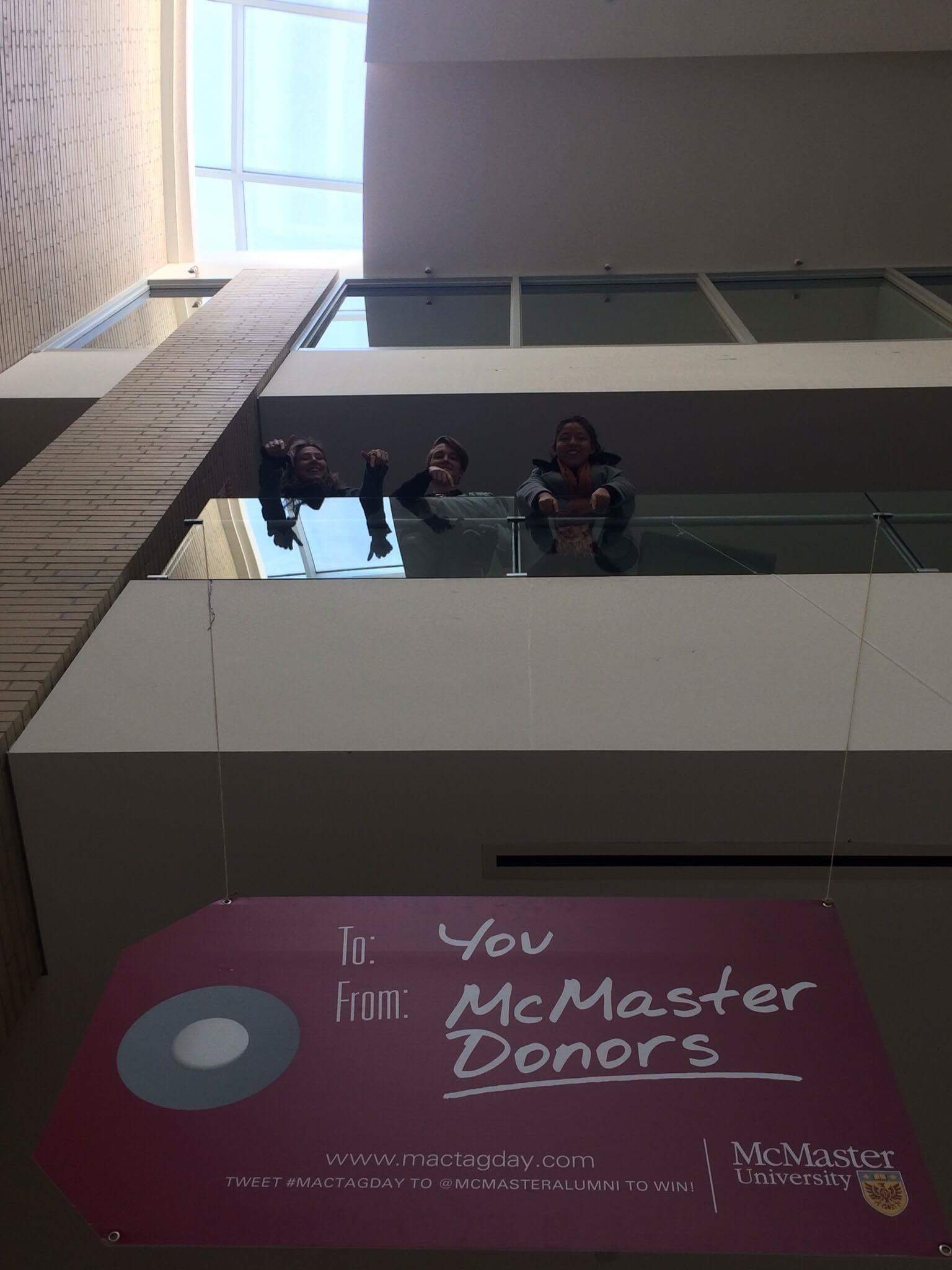 thank you, McMaster alumni donors for helping McMaster students financially. It is very much appreciated it.  @McMasterAlumni #mactagday https://t.co/Qpw891GJEA
