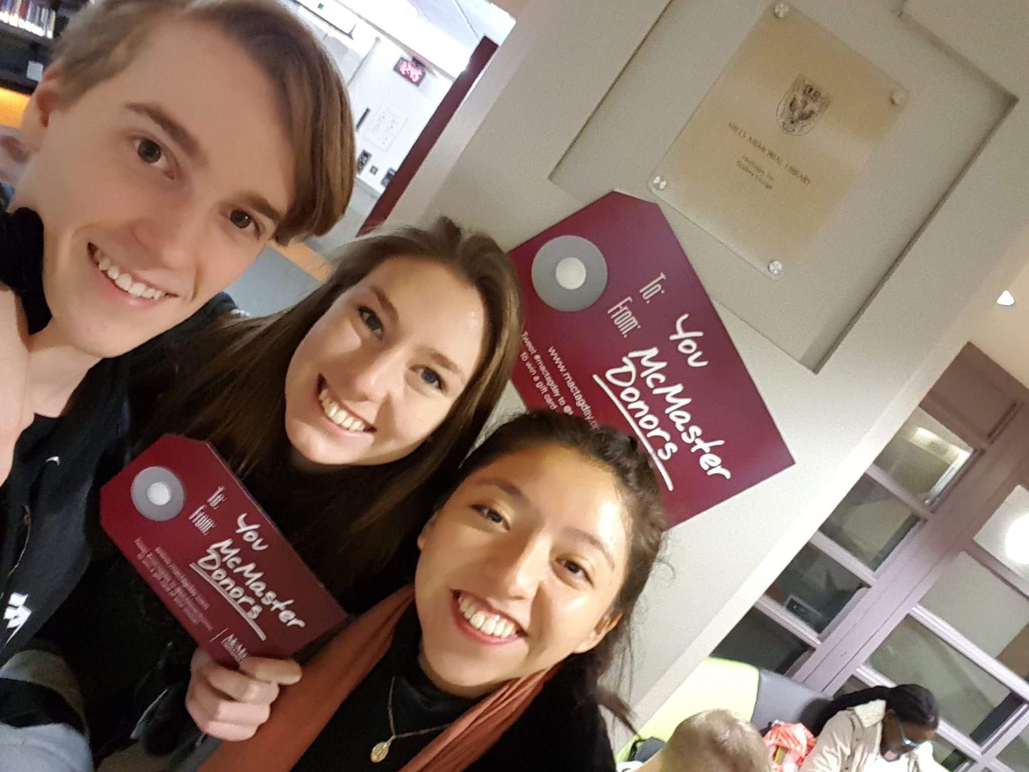 THANK YOU MCMASTER DONORS @McMasterAlumni #MacTagDay https://t.co/ItZC0k0xkN