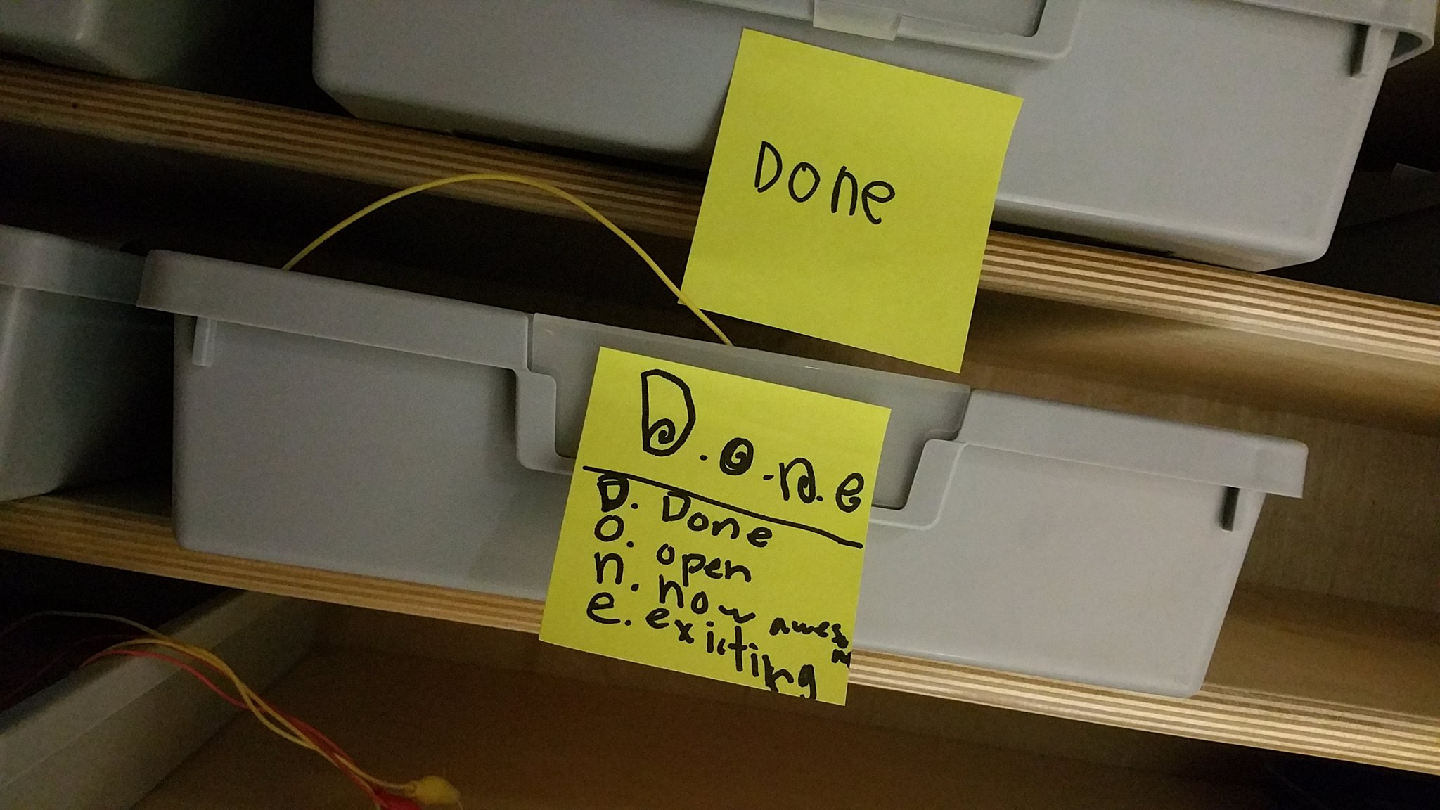 """It's not unusual for us to ask a stdnt abt their #MakerEd project,""""How would you define 'done'?"""" Here's how this 1 does #kidquote #MVPSchool https://t.co/bZyf6vPDvy"""