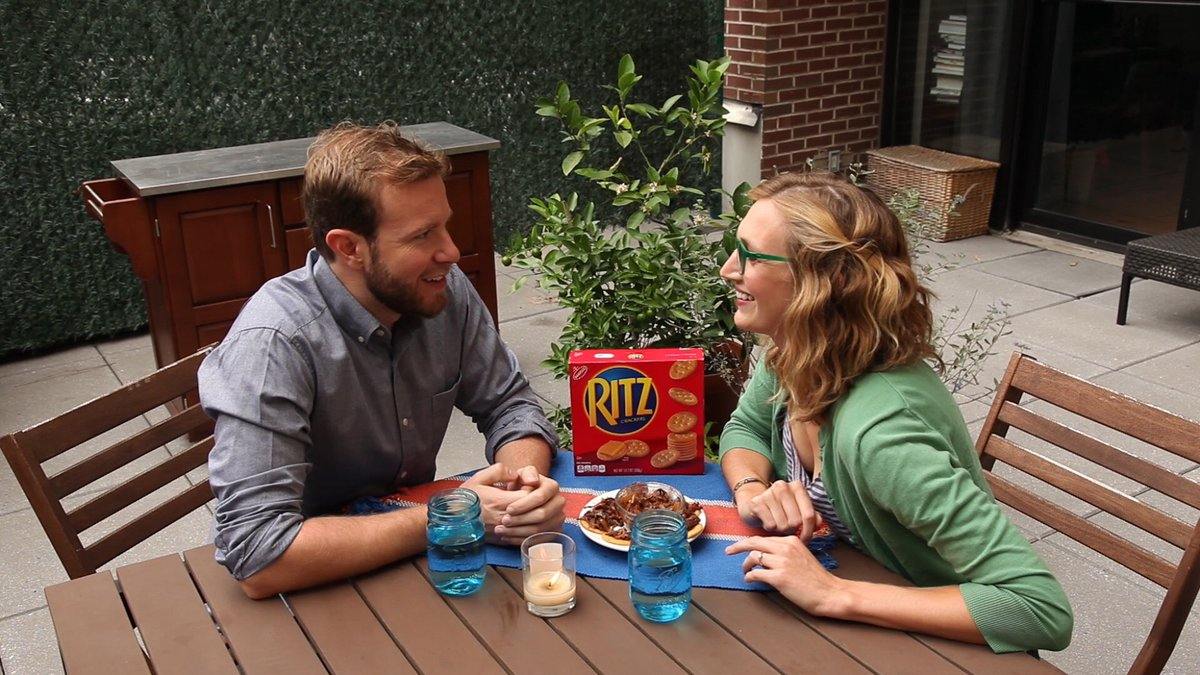 Still drooling over these shredded steak-topped @Ritzcrackers. Such a fun date night! #LifesRich #sponsored https://t.co/6pxdDA0EpE