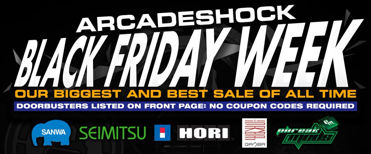 Arcadeshock coupon