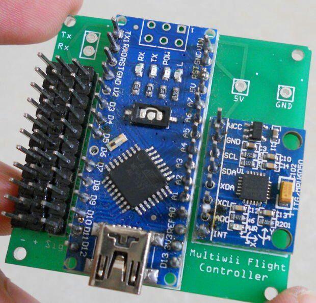 DIY Custom Multicopter Flight Controller maker diy drone flightcontroller