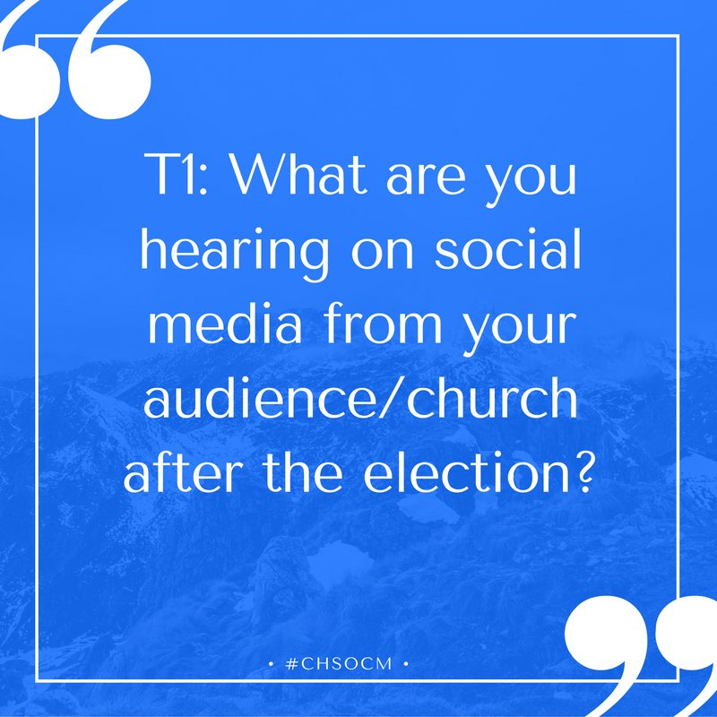 Thumbnail for #ChSocM chat 11/15/16: Listening Post-Election