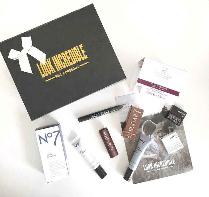 ICYMI: My review of this month's Look Incredible box is up on my blog now! bbloggers