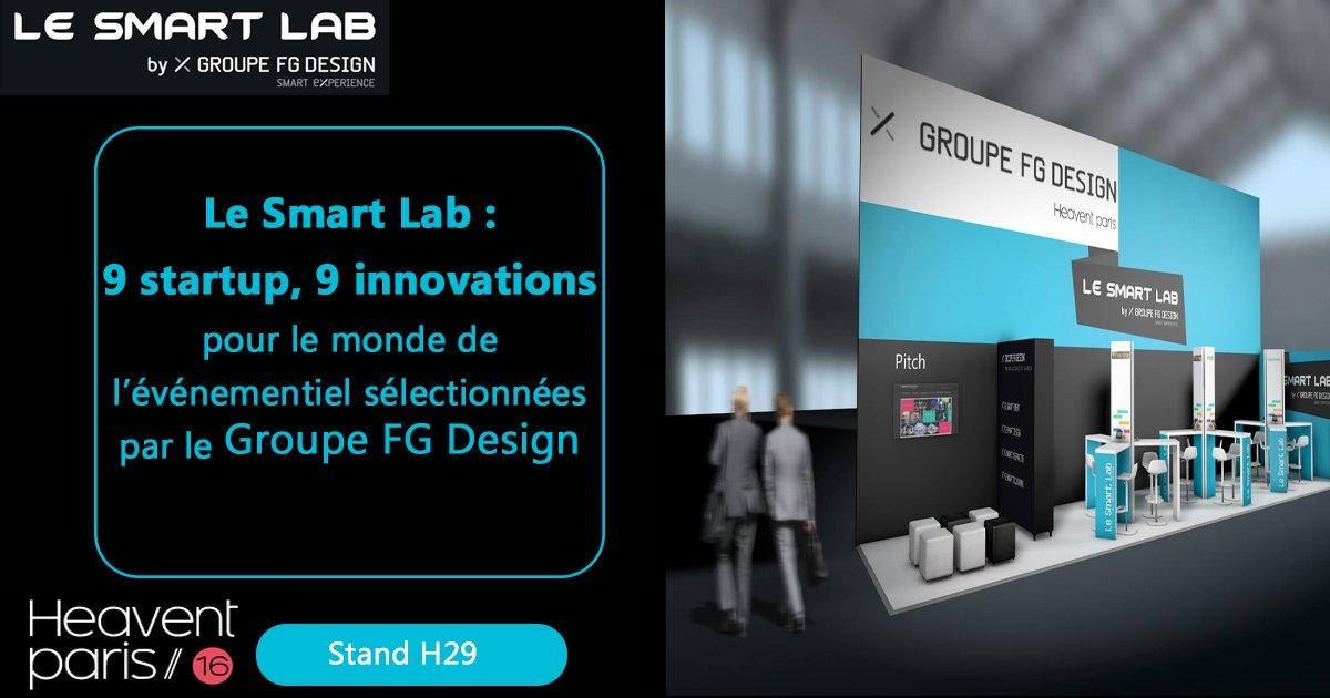 Les 9 startup du #SmartLab vous attendent pour vous présenter leurs innovations ! @heaventparis #eventprofs https://t.co/NGaywGjLvQ