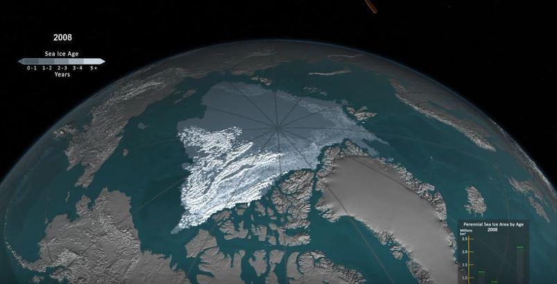 La fonte des #glaciers de l'#Arctique entre 1984 et 2016 | #climat #risques http://sco.lt/8jpfoP