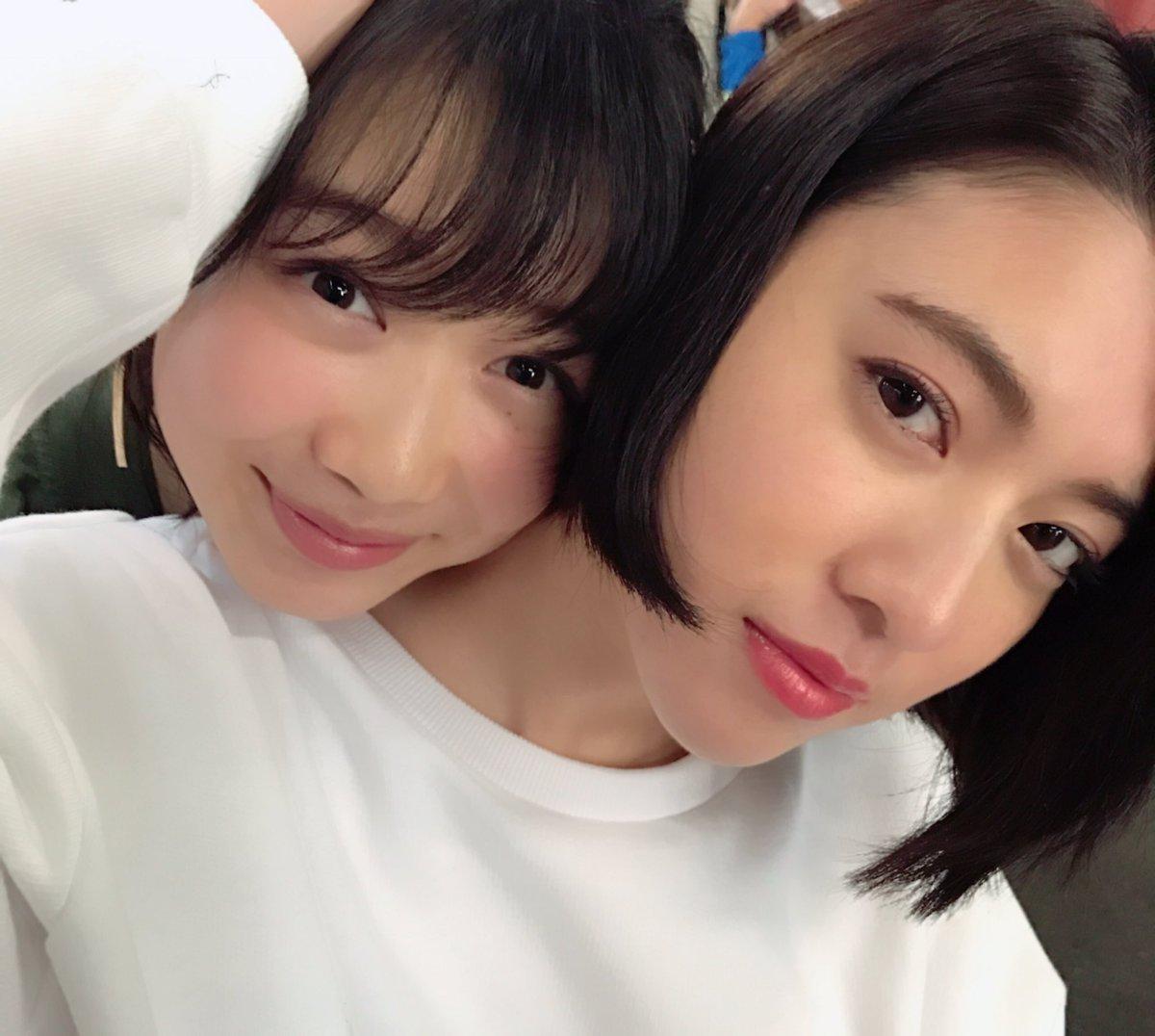 三吉彩花と岡本夏美