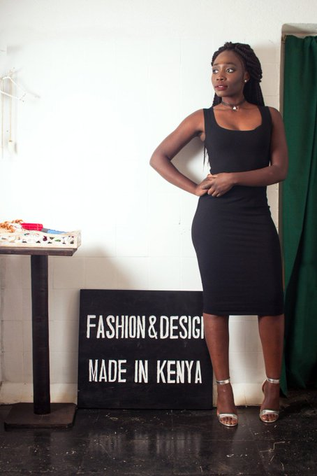 THE NOT SO BASIC,BASIC .The little black dress that is MADEINKENYA ootd fashion