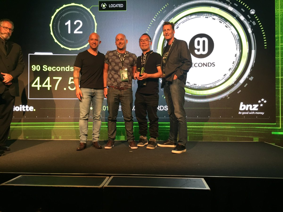 Cloud video production platform @90secondstv take out number 12, congrats! #NZFast50 https://t.co/ySzDOEMVOa