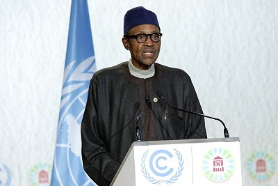 Buhari declared the resolve of FG to ensure that policies put in place to address climate change will make the country emerge as one of the world's best