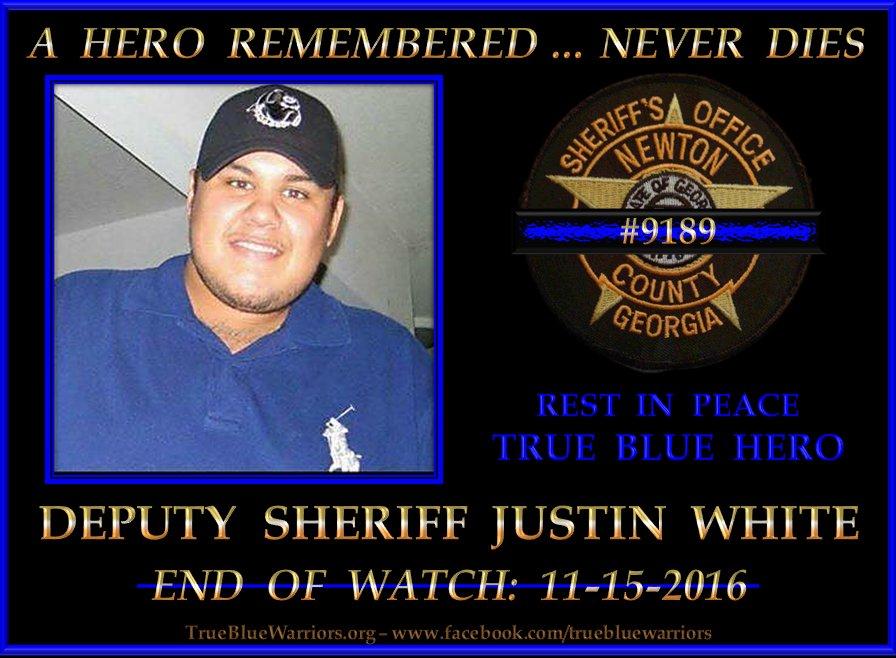 Image result for DEPUTY JUSTIN WHITE