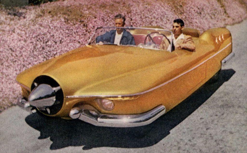 Manta Ray (1953) http://oldconceptcars.com/1930-2004/manta-ray-1953/…