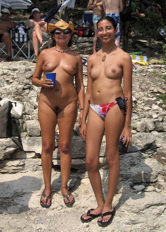 Indian family naked — 13