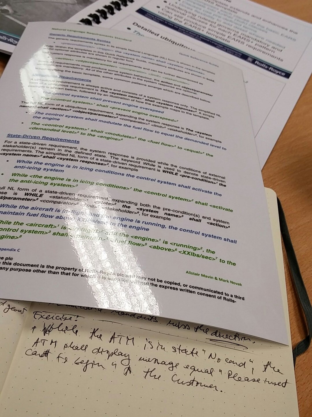 Re-learning to write requirements? @ EARS tutorial #ASEC2016 @incoseuk https://t.co/IJkWre5lMB