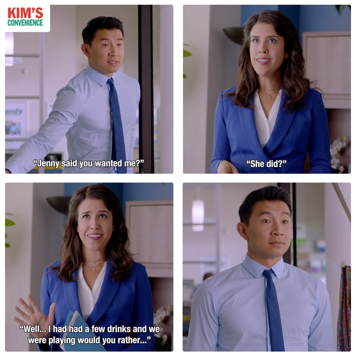 Image result for kim's convenience shannon and jung