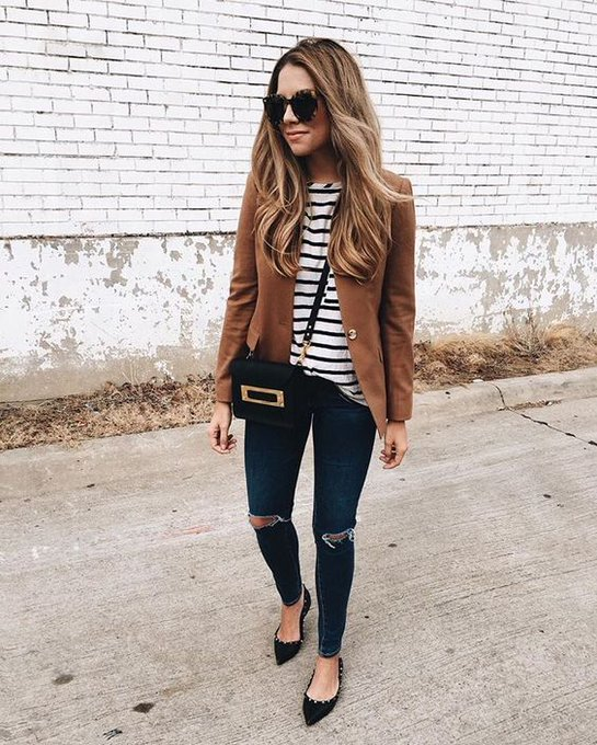 easily my favorite blazer via The Teacher Diva theteacherdiva ootd