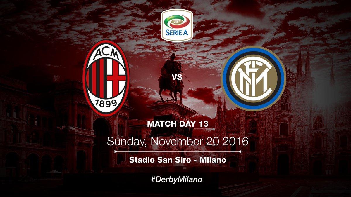 Milan-Inter Derby della Madonnina in diretta tv e streaming gratis.