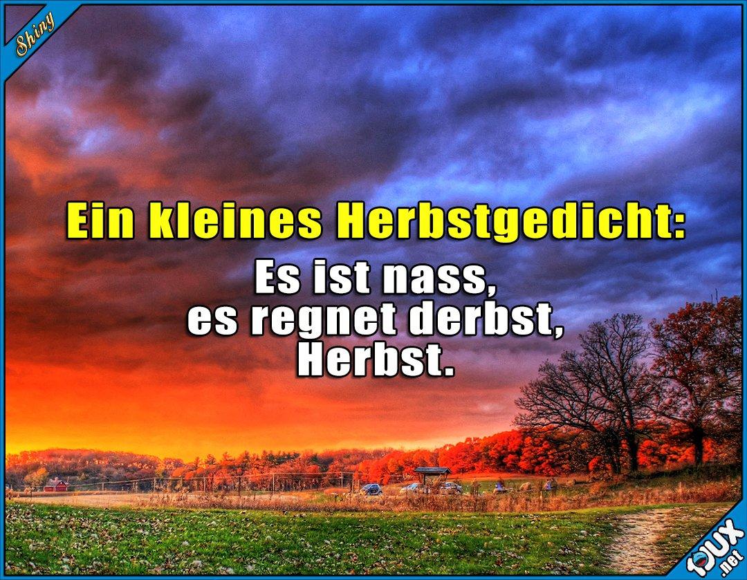 Shiny Sur Twitter Ein Deutsches Herbstgedicht P Https