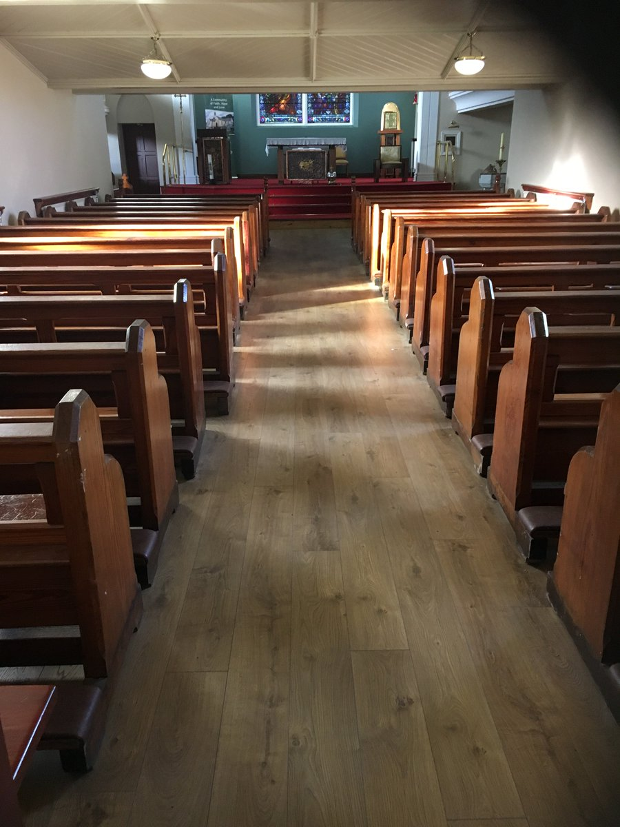 Pfl Ireland On Twitter Kronotex Mammut Fitted In Camlough Church  -> Aki Carpetes