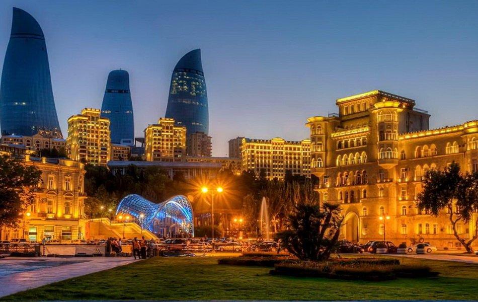 Азербайджанские красивые картинки, открытки рождением