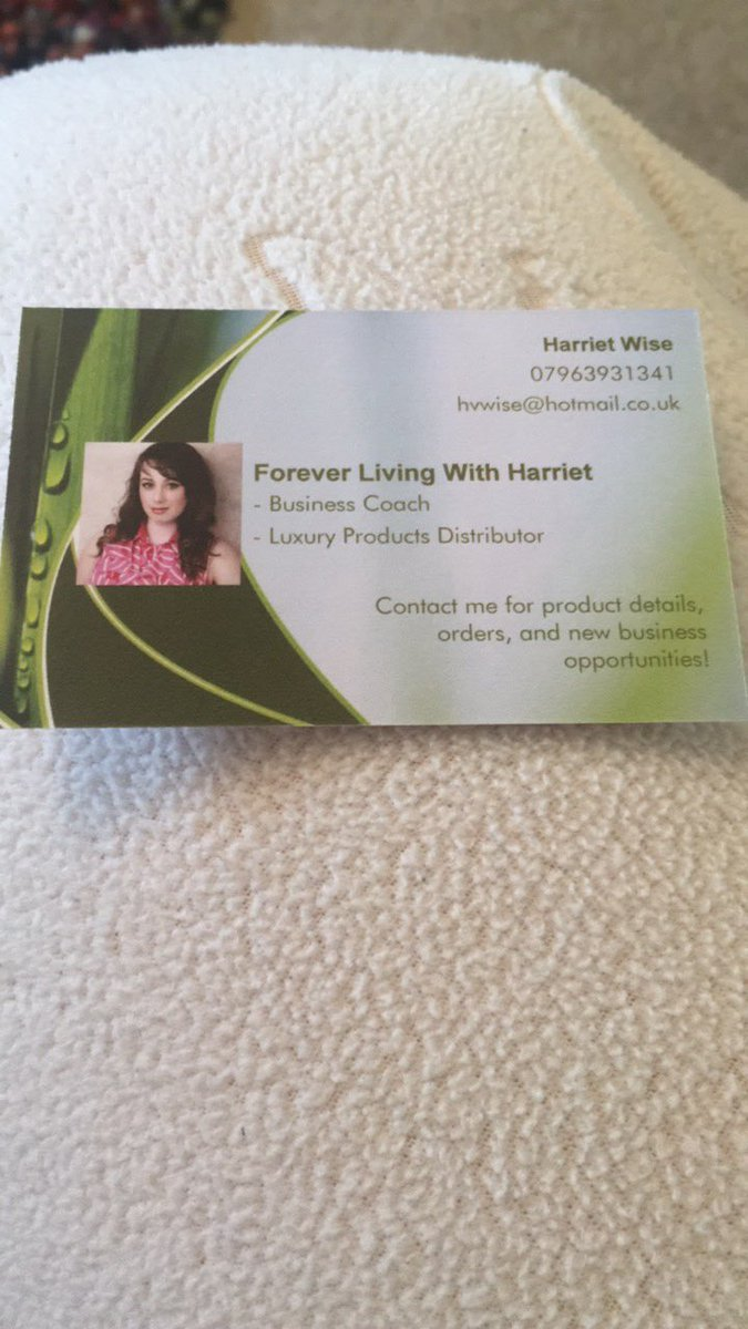 Great Forever Living Business Cards Photos - Business Card Ideas ...