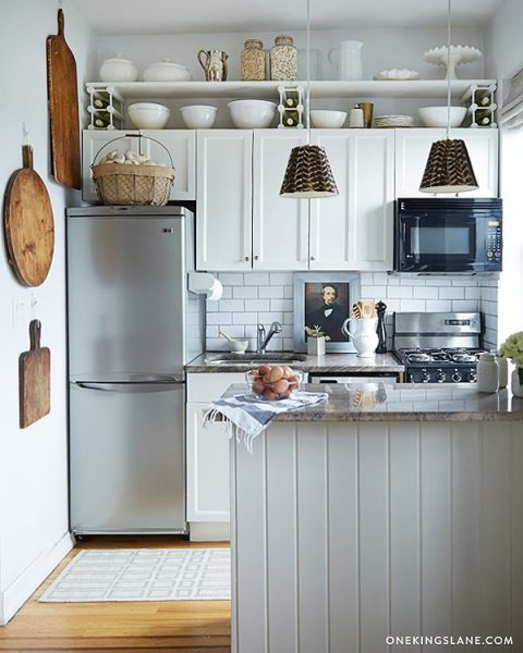 Small kitchens can be beautiful too.Kitchen InteriorDesign DIY