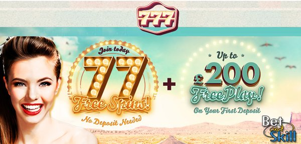 777 Casino No Deposit free spins