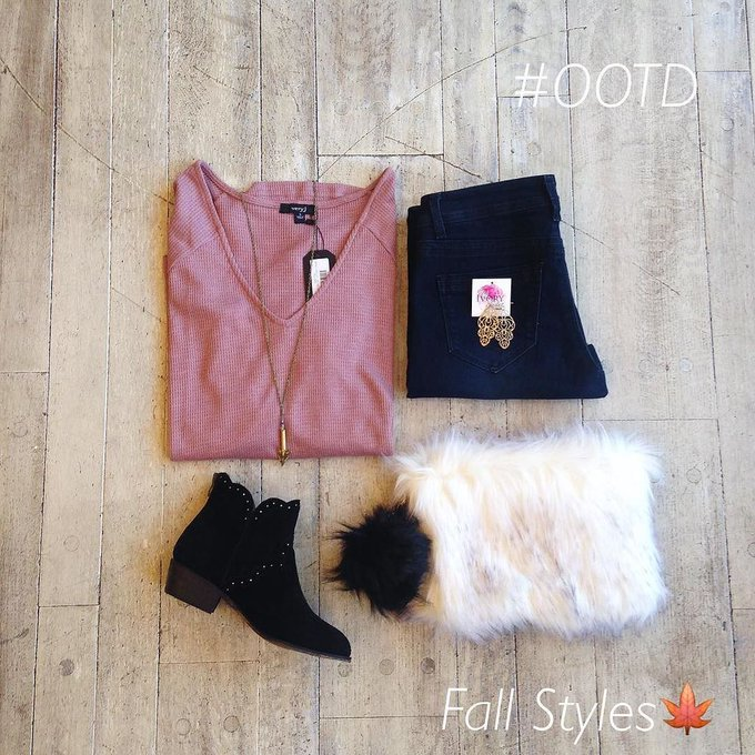 OOTD! All of these styles can be found in store or online theivoryclosetmidtown fashion