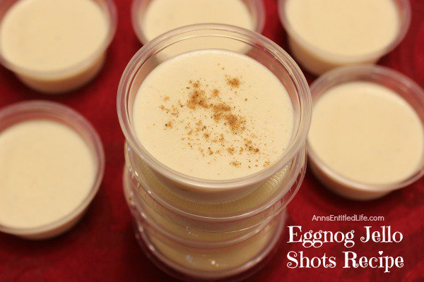 Eggnog Jello Shots