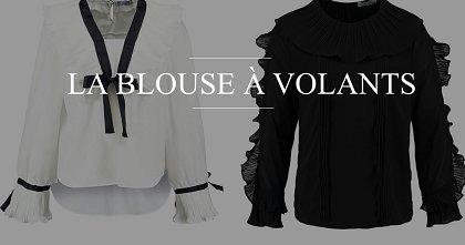 Modenews : laissez vous tenter par la blouse volants ! conseilsmode ootd fashiontips