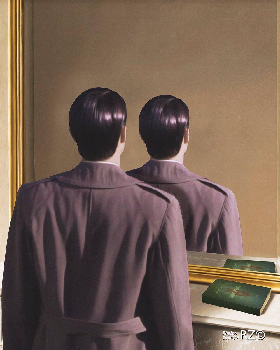Resultado de imagem para Doppelgänger - Magritte