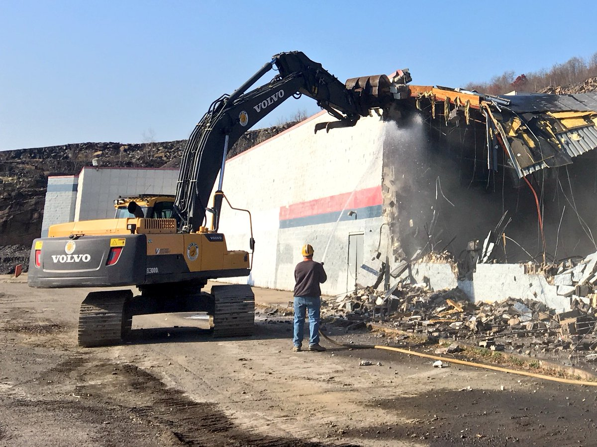 Jim Hamill On Twitter The Former Walmart In Dickson City Is Coming Down Wegmans Bought The Neighboring Property Which Was Closed After Problems W Boulders Https T Co Rfgtppzc7z