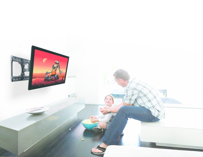 How to fit a television into your space when you have viewing limitations: HowTo DIY