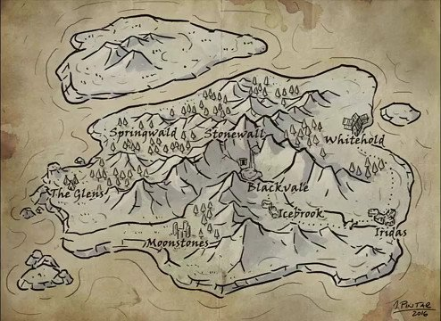 Check out JonPin's map making process video MapMaking tutorial