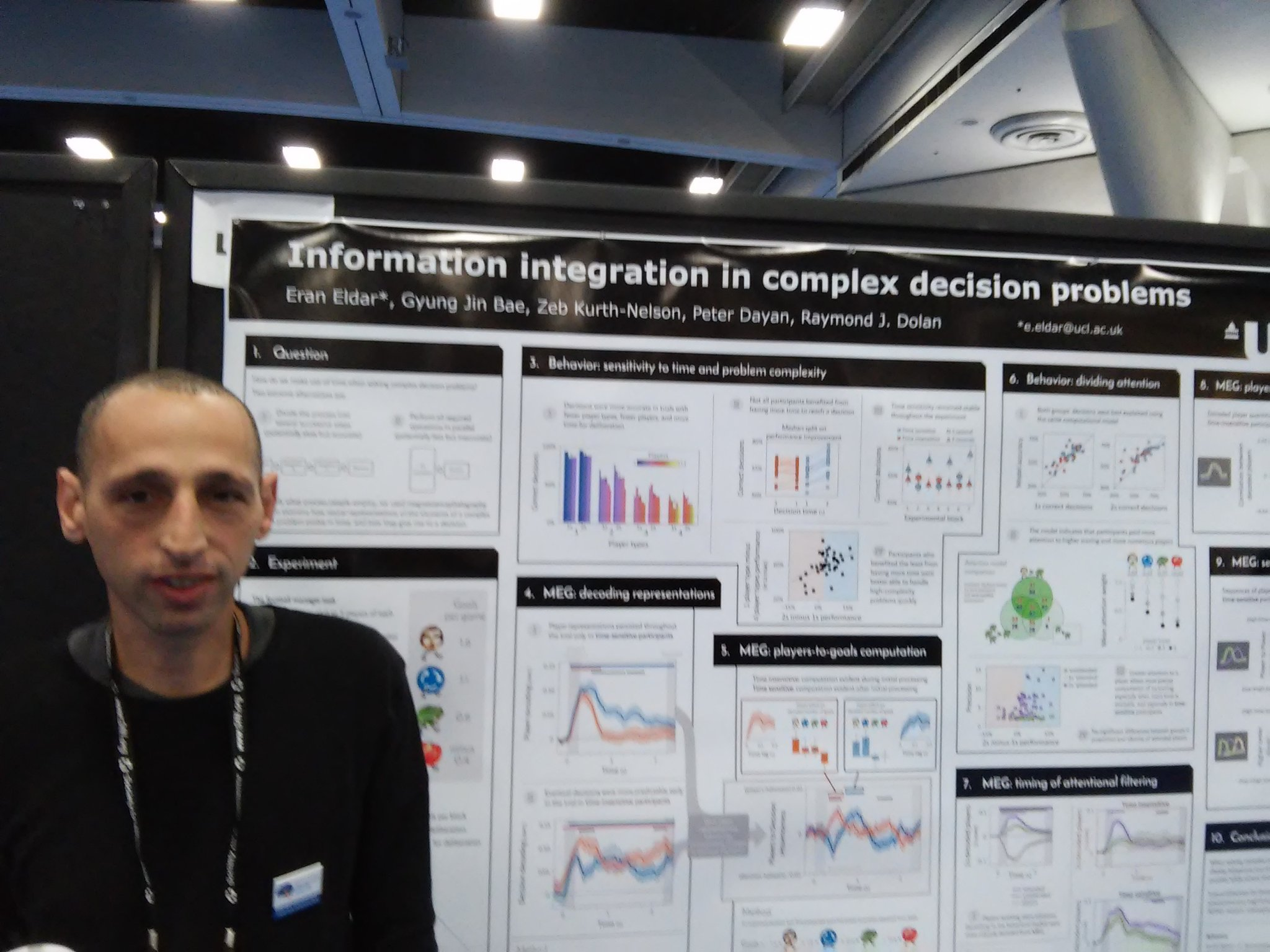 Poster LLL15 Eran Eldar uses MEG decoding and comp modeling to distinguish sequential & parallel processing of decisions #sfn16 #plos https://t.co/GaircOXYzM