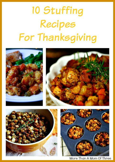 10 Stuffing Recipes For