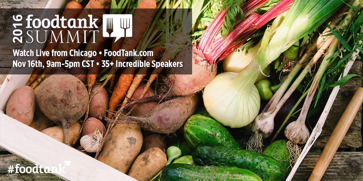 Online today: #FoodTank Summit now live at https://t.co/ATOmJ0Mrq1! https://t.co/ah1W9Egej8 @Food_Tank