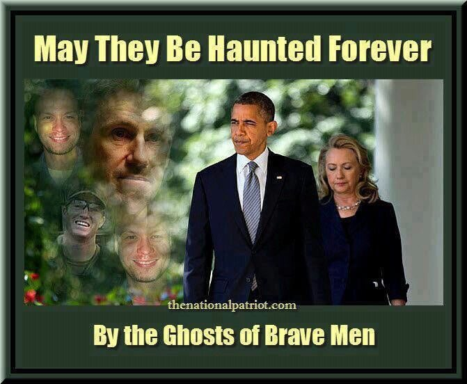 MT @daeshhun: May They Be Haunted Forever By The Ghosts Of Brave Men. #Benghazi #Veterans #MAGA <br>http://pic.twitter.com/4YQNpCdE35 #PJNET