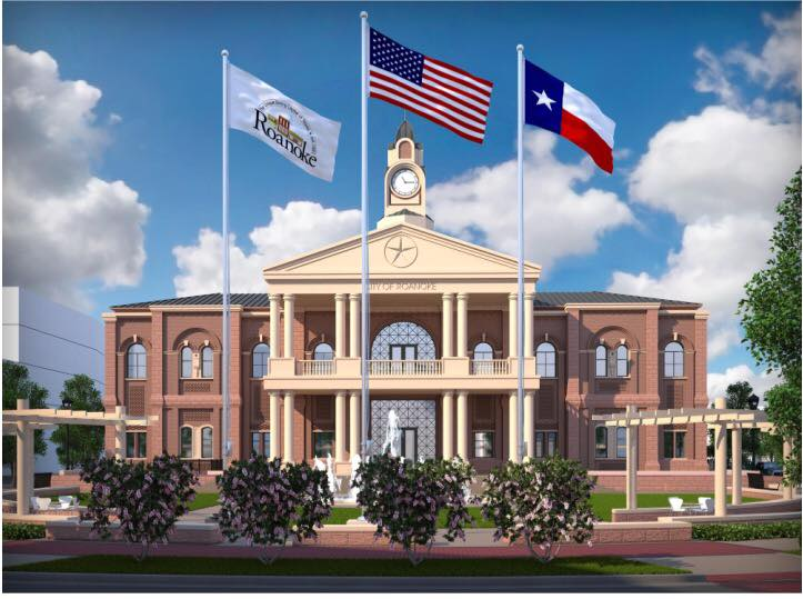 Roanoke City Hall Texas