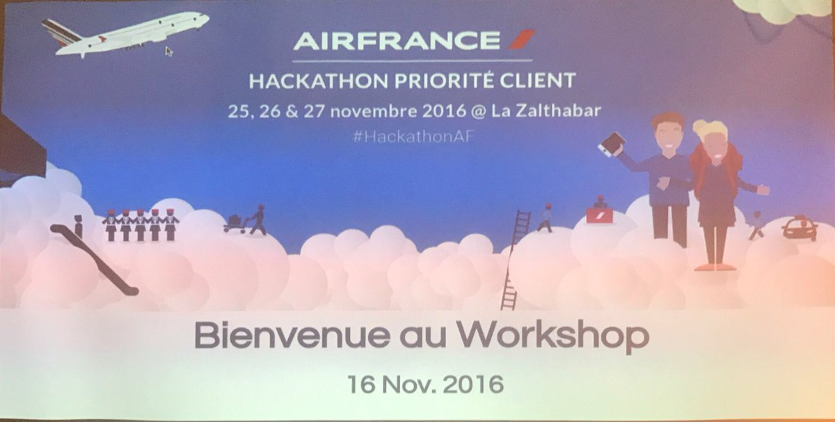 Hackathon Priorité Client Air France photos