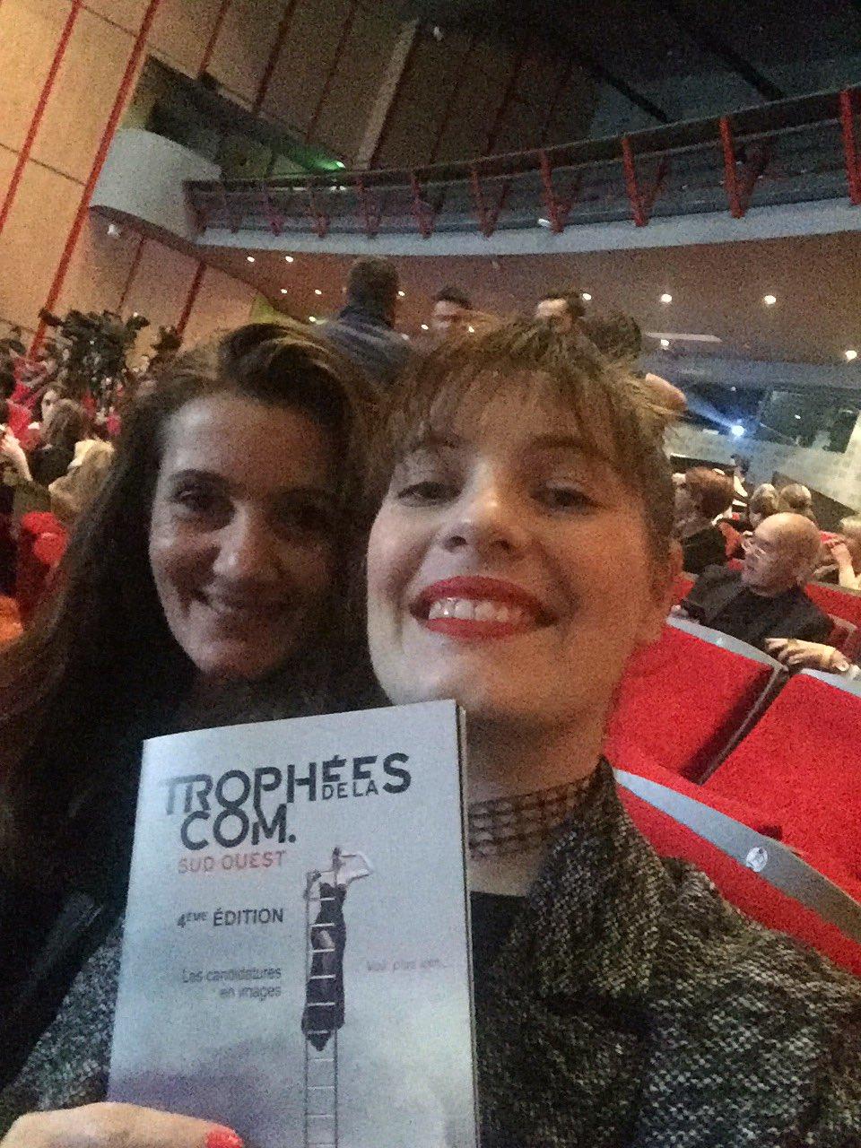 Prêtes pour les #tropheescom ! 2 dossiers déposés pour @ToulouseBS  😀 https://t.co/5tvDJfDPX2