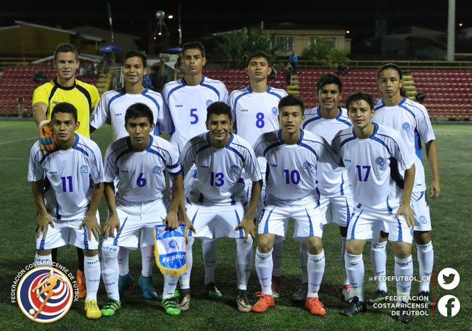Eliminatorias de centroamerica rumbo al mundial sub17 de india 2017. El Salvador 0 Costa Rica 3. Cx_-EhkUsAELcPq