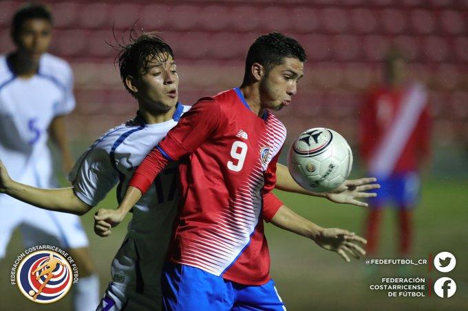 Eliminatorias de centroamerica rumbo al mundial sub17 de india 2017. El Salvador 0 Costa Rica 3. Cx_-F9vVIAASt3D