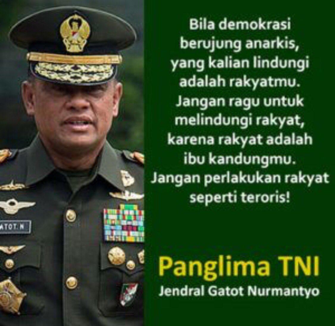 Dengan sikap ini, Jenderal Gatot layak menjadi capres atau cawapres https://t.co/0GHfffkzXx