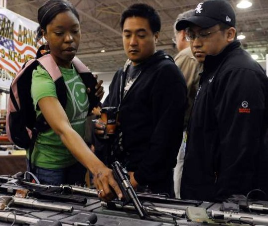 Gun sales to blacks and minorities quadruple after Trump win https://t.co/ibpyR8Ov0e