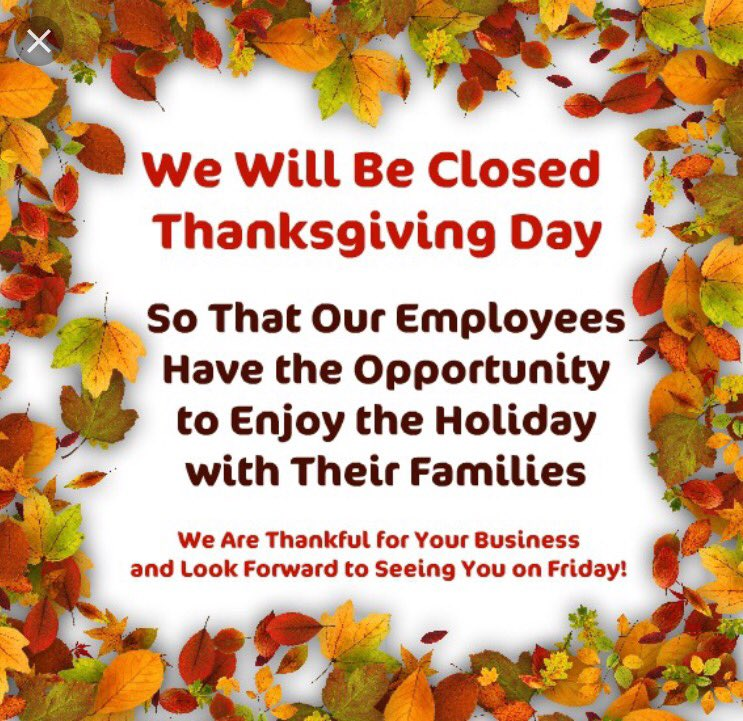 photograph regarding Thanksgiving Closed Sign Printable identify Rocket Fizz Tampa (@RocketFizzTampa) Twitter