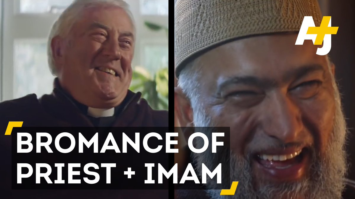 Turns out, the Muslim imam and Christian priest from Amazon's ad are friends in real life.