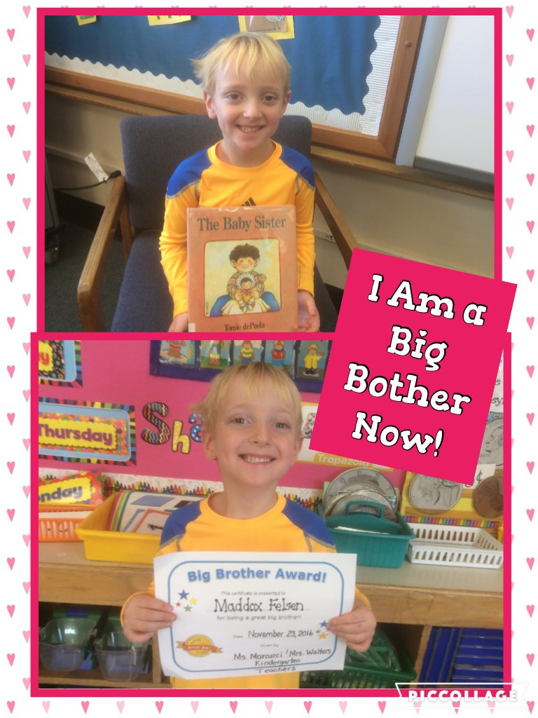 I Am a Big Bother Now! @ivysherman #seamanstrength @jamiefelsen  https://t.co/DR49IWRnGC https://t.co/jakWdKRVGh