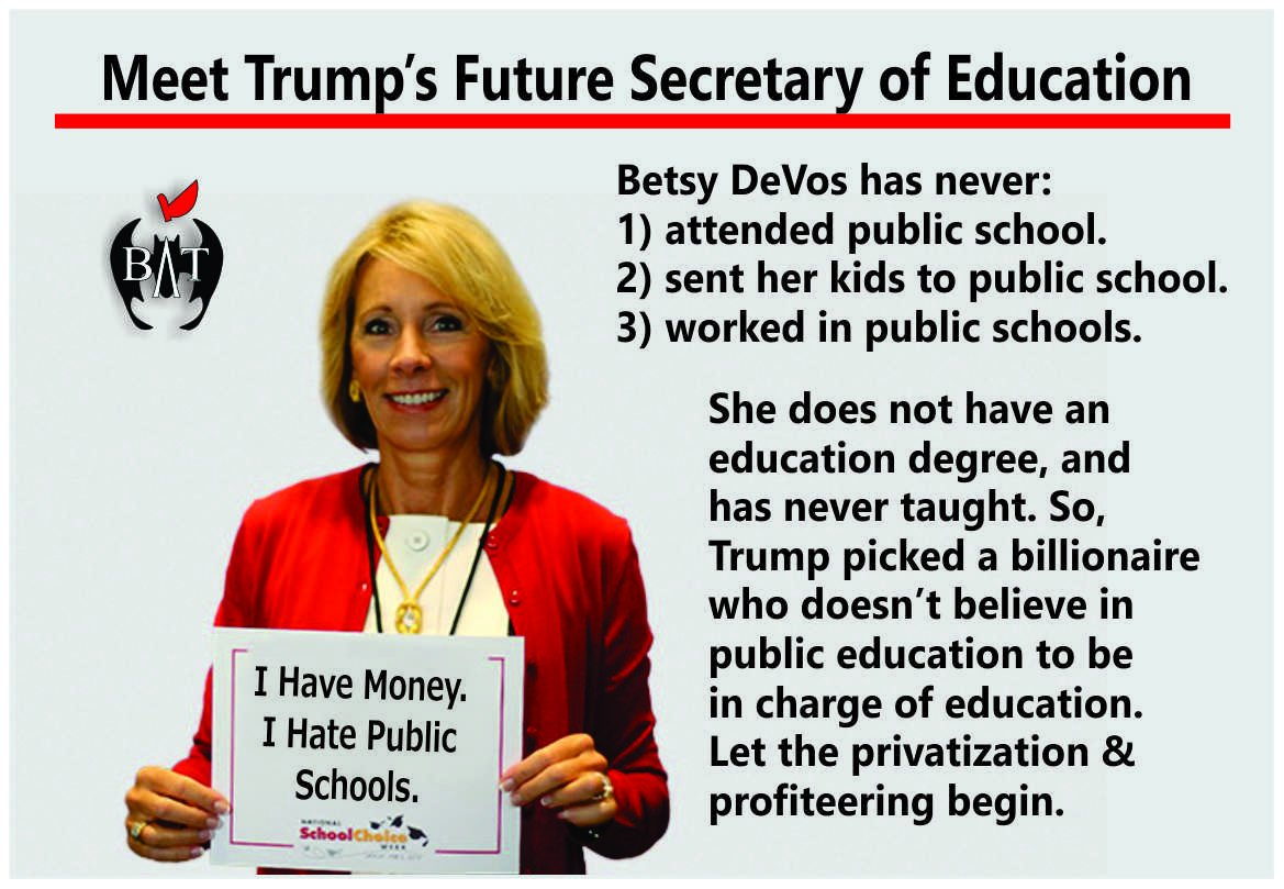 Image result for devos not qualified