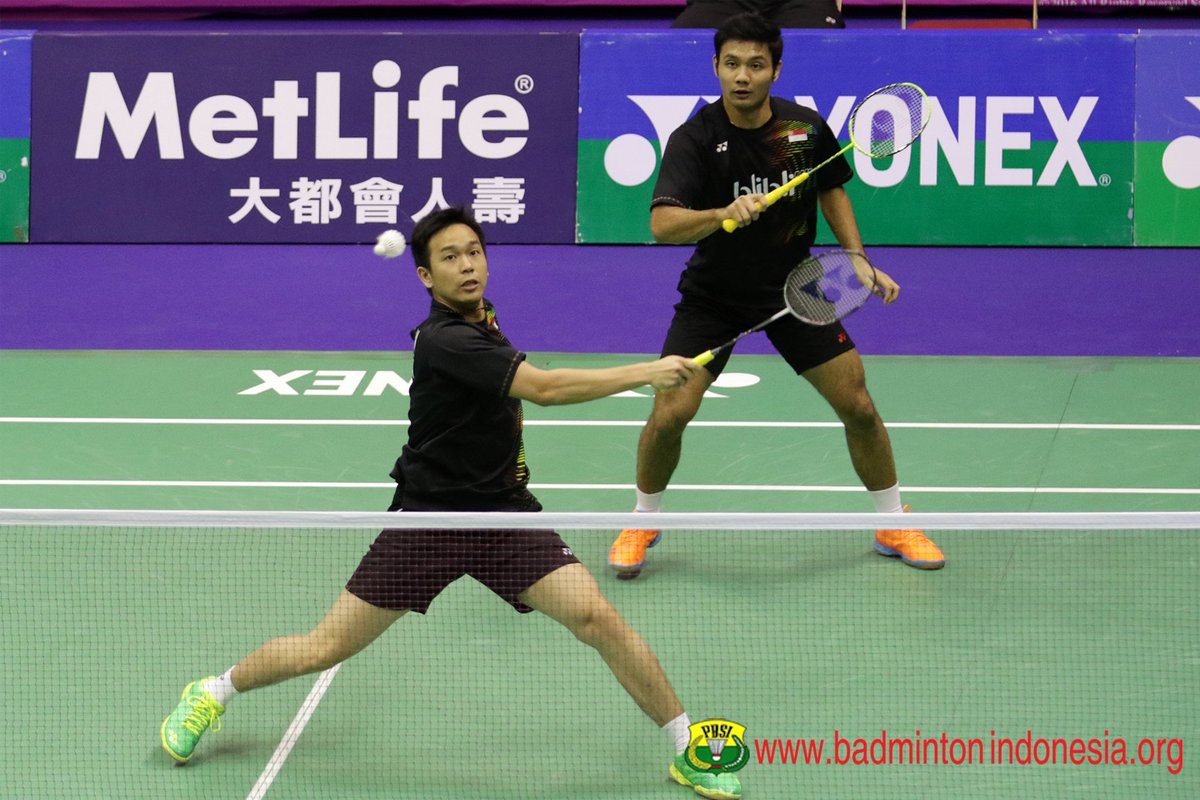 "BADMINTON INDONESIA on Twitter ""Berry Angriawan Hendra Setiawan"